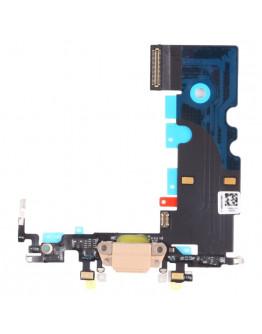 Flex Conector de carga para Iphone 8 - Dourado