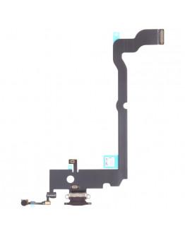 Flex Conector de carga para IPhone Xs Max - Preto