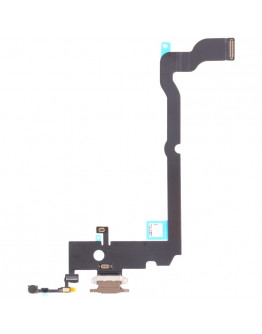 Flex Conector de carga para IPhone Xs Max - Dourado