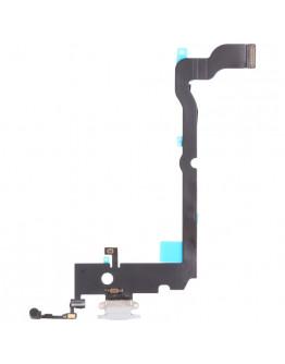 Flex Conector de carga para IPhone Xs Max - Branco