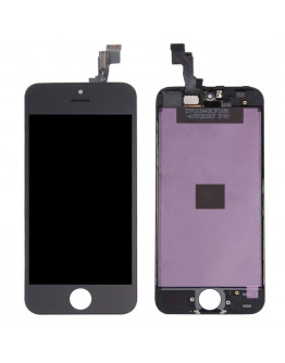 Ecra LCD + Touch para iPhone 5S / iPhone SE - Preto