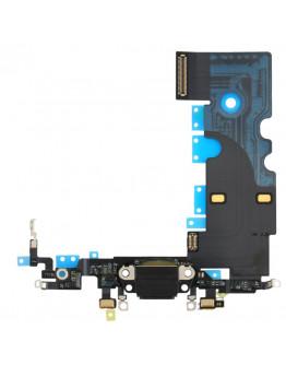 Flex Conector de carga para Iphone 8 - Preto / SE (2020) - Preto (OEM)